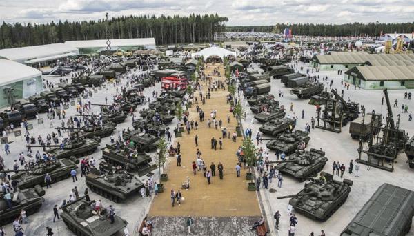 Cận cảnh 'Công viên vũ khí' hoành tráng của Nga