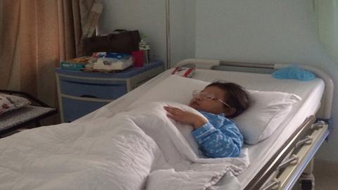 Phẫu thuật cứu bé gái có bướu máu hiếm gặp ở VN