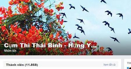 Trào lưu tìm bạn cùng cụm thi THPT quốc gia trên Facebook