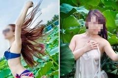 Hình ảnh xấu xí không muốn nhìn lại của giới trẻ ở đầm sen