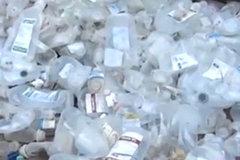 Bộ Y tế truy hộp nhựa làm từ rác thải y tế còn dịch