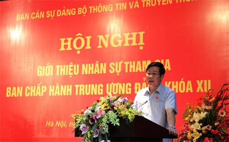 Trung ương, Bộ TT&TT, Thứ trưởng, Trương Minh Tuấn, nhân sự