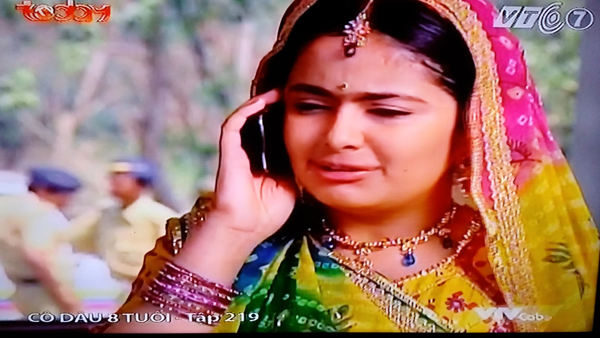phim truyền hình, Ấn Độ, 'Cô dâu 8 tuổi'