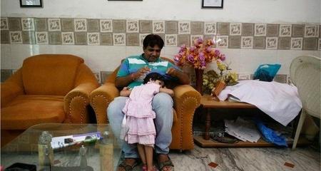 Ngắm bộ ảnh cực yêu về cha và con gái