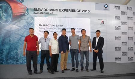 20150623142735 2 Trải nghiệm BMW cùng lốp Bridgestone qua các bài tập