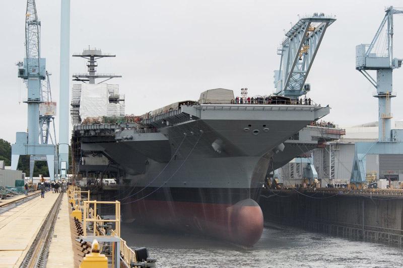 Tàu sân bay, hàng không mẫu hạm, USS Gerald Ford