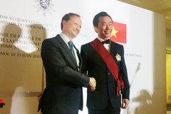 Bỉ trao huân chương Danh dự cho ông Phạm Sanh Châu