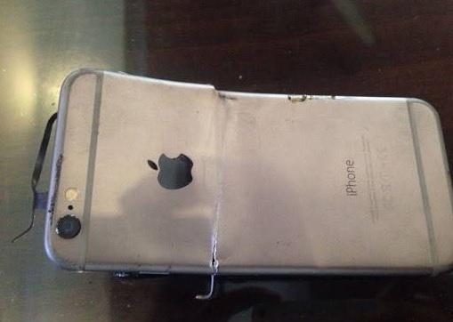 iPhone 6, phát nổ, lựu đạn, Ấn Độ,