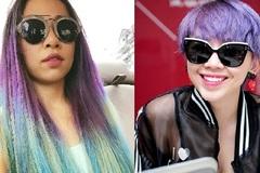Mốt tóc cầu vồng quái dị của Jennifer Phạm, Angela Phương Trinh