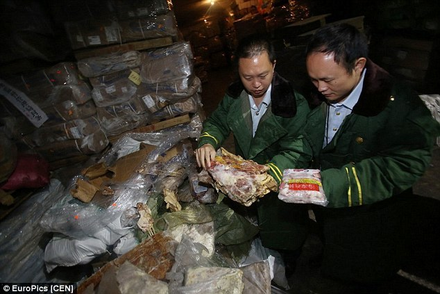 Mục sở thị kho thịt thối 40 tuổi ở Trung Quốc
