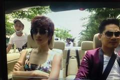 Diễn viên bị cướp khi đóng phim trên phố Sài Gòn