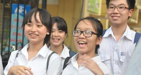 Sở GD-ĐT Hà Nội thông tin về điểm trúng tuyển lớp 10
