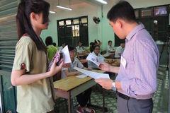 Chỉ 7% bài thi môn văn vào lớp 10 đạt trên 5 điểm