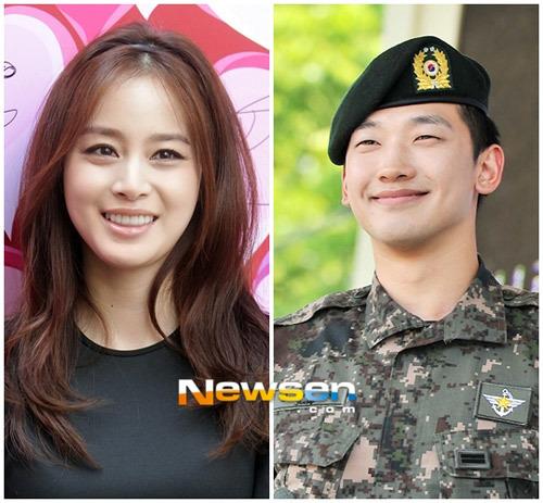 Bi Rain và Kim Tae Hee lần đầu xuất hiện cùng nhau