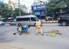 Hà Nội: Va chạm với xe rác, người đàn ông chết thảm