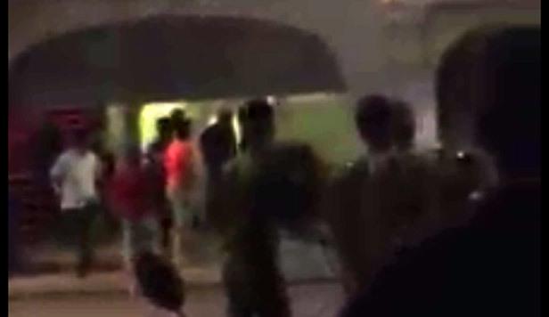 Cảnh sát nổ súng trấn áp vụ hỗn chiến trước vũ trường