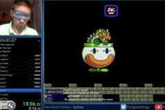 (Clip) Game thủ bịt mắt phá đảo Mario trong hơn 20 phút cực ảo diệu