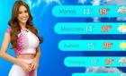 Nữ MC thời tiết 'gây sốt' vì vòng ba 'khủng'