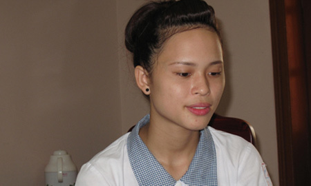Nữ sinh, ước mơ, giảng đường, đại học, Tuyên Quang