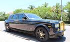 """Rolls-Royce Phantom mạ vàng do thợ Việt """"độ"""" bản Rồng xuất hiện tại Đà Nẵng"""