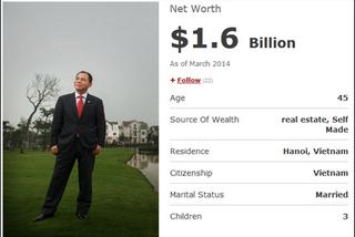 Kiếm thêm 3.000 tỷ: Tỷ phú Phạm Nhật Vượng vẫn vô đối