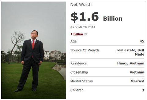 tỷ phú Phạm Nhật Vượng, Tập đoàn Vingroup, cổ phiếu VIC, người giàu nhất sàn chứng khoán, khối tài sản , tỷ-phú-Phạm-Nhật-Vượng, Tập-đoàn-Vingroup, cổ-phiếu-VIC, người-giàu-nhất,sàn-chứng-khoán, khối-tài-sản