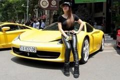 Vợ thiếu gia Minh nhựa chơi siêu xe không kém chồng