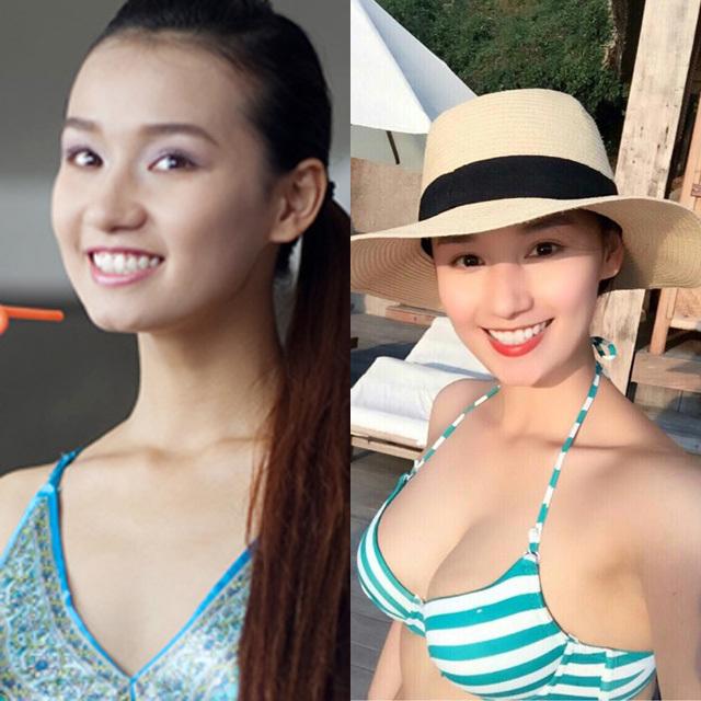 Vòng 1 ngày càng phát tướng của Lã Thanh Huyền