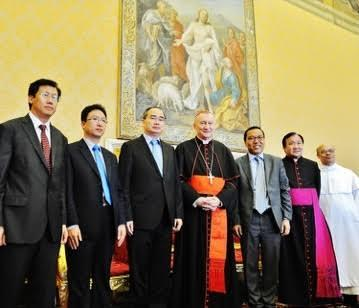 Chủ tịch MTTQ Nguyễn Thiện Nhân gặp Hồng y, Thủ tướng Vatican