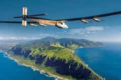 Máy bay năng lượng mặt trời sắp qua Thái Bình Dương