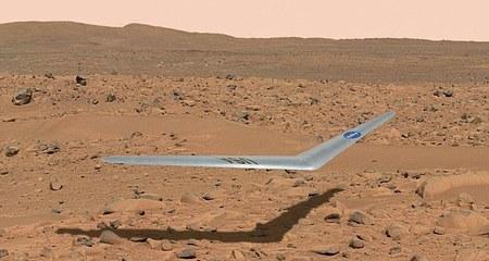 NASA sẽ đưa máy bay không người lái lên sao Hỏa