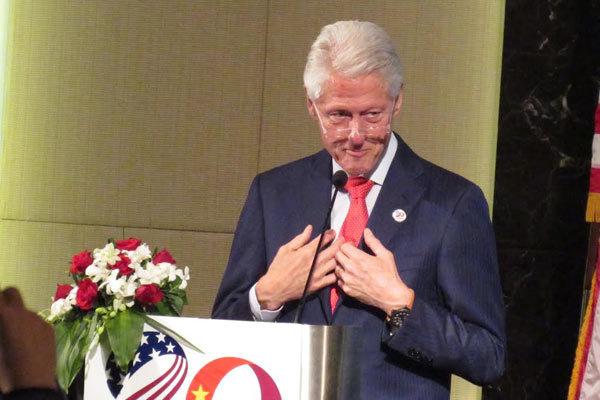 Ông Bill Clinton dự kỷ niệm 20 năm quan hệ Việt-Mỹ