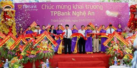 Khai trương chi nhánh TPBank ở Nghệ An