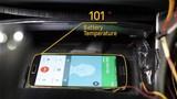 Hạ nhiệt điện thoại sạc trên ôtô
