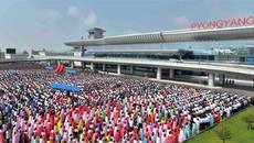 Ảnh Kim Nhật Thành không treo ở nhà ga sân bay mới