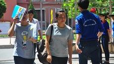 Thí sinh hứng thú với câu hỏi về biên giới Việt-Trung
