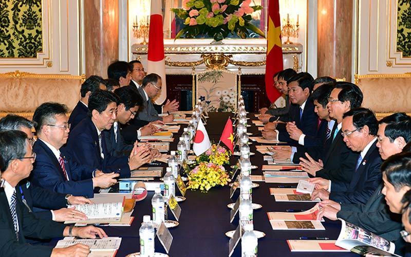 Biển Đông, TPP, Nhật Bản, ODA, nhà máy điện hạt nhân Ninh Thuận, Shinzo Abe, đối tác chiến lược