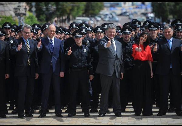 Kiev ra mắt dàn cảnh sát tinh nhuệ