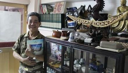 Chiếc sập 300 tuổi 2 triệu USD của vua đồ cổ Sài Gòn