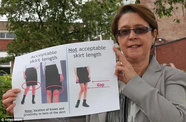 Trường học Anh, cấm nữ sinh mặc váy ngắn