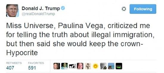 'Đương kim Hoa hậu là kẻ đạo đức giả'