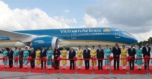 Tổng bí thư dự lễ bàn giao Boeing 787-9 Dreamliner