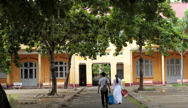 Trường THPT Châu Văn Liêm, kiểu Pháp, đập bỏ, Cần Thơ