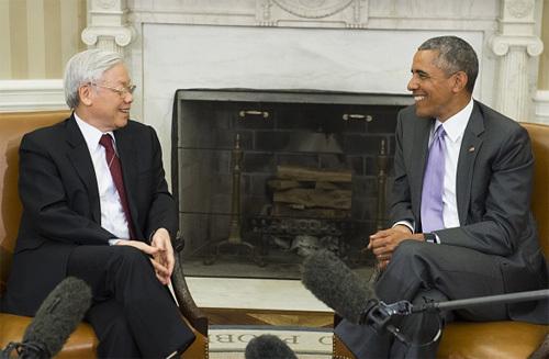 Tổng bí thư, Nguyễn Phú Trọng, Tổng thống, Hoa Kỳ, Obama