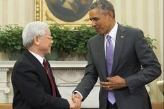 Việt-Mỹ ra Tuyên bố chung tầm nhìn quan hệ