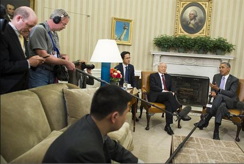 Việt-Mỹ cam kết thúc đẩy tối đa lợi ích chung