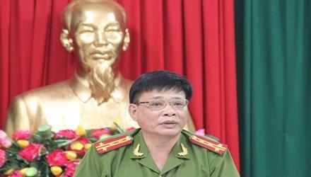 Công an Bình Định, thông tin, Bí thư huyện, chết trong ô tô