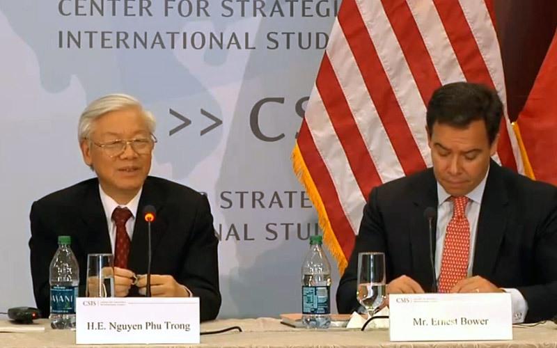 TPP, Obama, kinh tế thị trường, Tổng bí thư, biển đông, CSIS