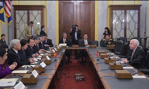 Cuộc gặp của Tổng bí thư với nhân vật đặc biệt