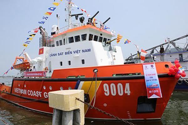 Cảnh sát biển có thêm 2 tàu tuần tra hiện đại